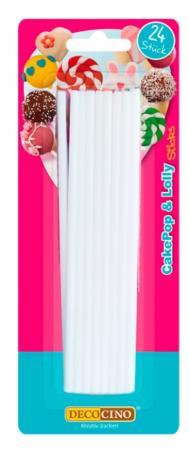 Cake Pop Stiele - 15cm - 24 Stück - wiederverwendbar