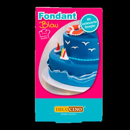Fondant - Blau - 250g - Dekoback