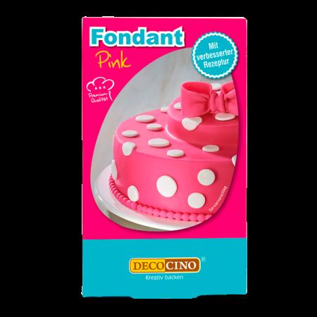 Fondant - Pink - 250g - Dekoback