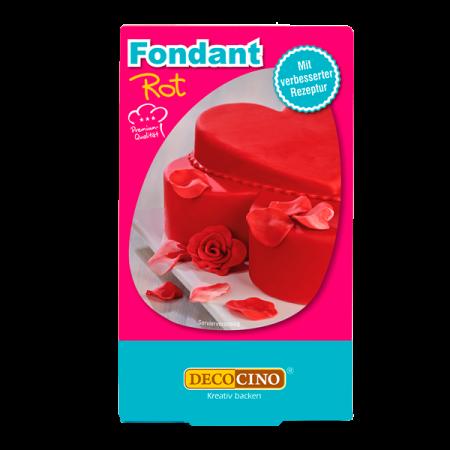 Fondant - Rot - 250g - Dekoback