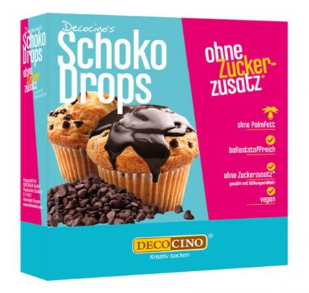 Schoko Drops ohne Zuckerzusatz