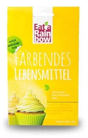 Lebensmittelfarbe - Eat a Rainbow - Farbpulver - Gelb