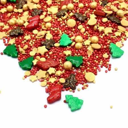 Santas Favorite - Streusel Mix - Happy Sprinkles