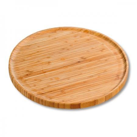 Pizzateller - Servierteller - Bambus