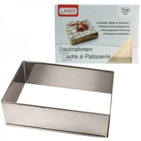 Backrahmen - Höhe 7,5 cm