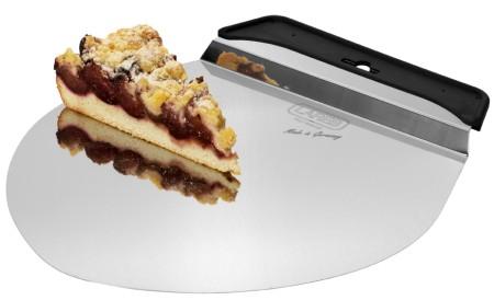 Kuchenheber mit Griff - Tortenretter Edelstahl rund