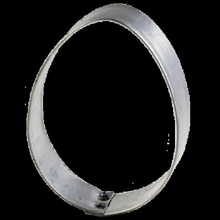 Osterei Ausstecher - Weißblech - 6,5 cm