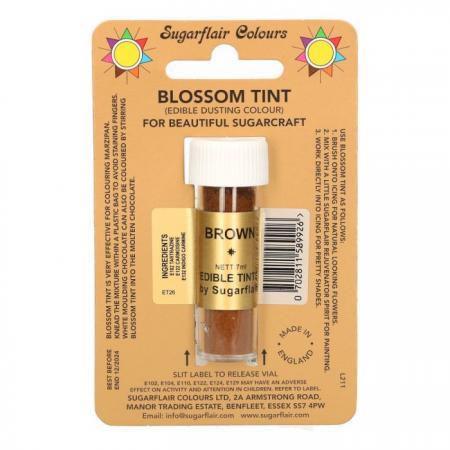 Puderfarbe - Sugarflair Blossom Tint - Brown - Braun