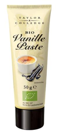 Vanille Paste - Bio - 50g Tube - Taylor & Colledge