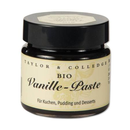 Vanille Paste - Bio - 65g Glas - Taylor & Colledge