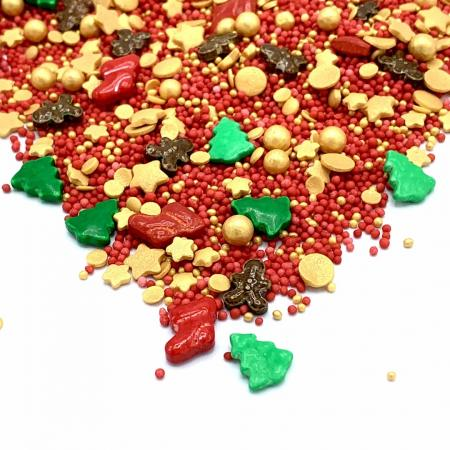 Santas Favorite - Streusel Mix - Happy Sprinkles