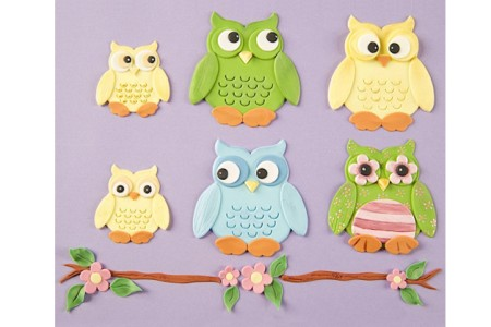 Eulen Ausstecher - Patchwork Cutters Owl Set