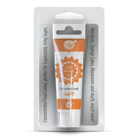 Rainbow Dust Pro Gel Lebensmittelfarbe Orange 2